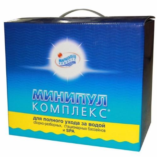 Минипул КОМПЛЕКС - для бассейнов 10-30м3 (6кг)