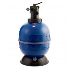 Фильтр д.500мм для бассейна Kripsol GRANADA GT506-504 с верхним подсоединением и c 6-ти поз. вентилем 1 1/2