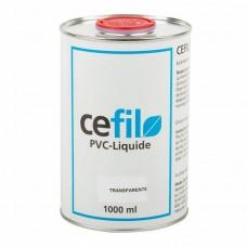 Жидкий ПВХ Cefil (бесцветный герметик) 1л.