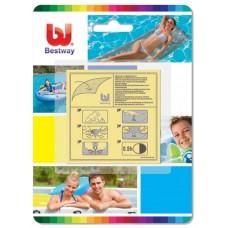 Ремонтный комплект Bestway 62068 (заплатки усиленные) для надувных бассейнов