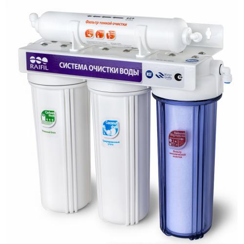 Водоочиститель PU905W3-WF14-PR-EZ (проточный 3 ступени)