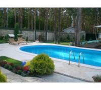 Бассейн каркасный овал Summer Fun (глубина 150, размеры 700x350)