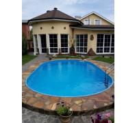 Бассейн каркасный овал Summer Fun (глубина 150, размеры 525x320)
