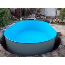 Бассейн каркасный овал Summer Fun (глубина 150, размеры 623x360)