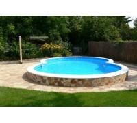 Бассейн Восьмерка Summer Fun (глубина 150, размеры 525x320)